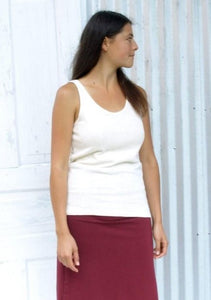 Hemp Tank Top - Custom Made Betsy Shirt - Handmade Organic Clothing
