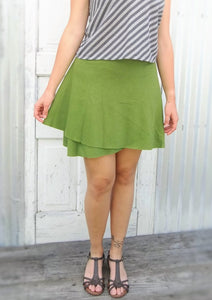 Mini Hemp Wrap Skirt - Custom Made Prim Skirt - Yana Dee