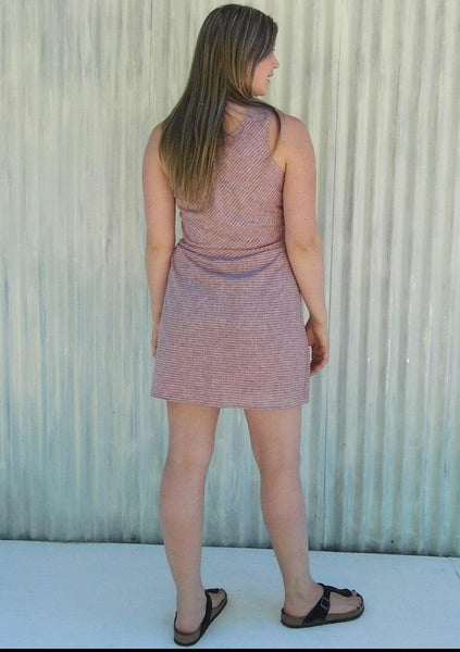 Summer Pocket Dress Made From Hemp - Natalia Dress - Handmade Organic Clothing