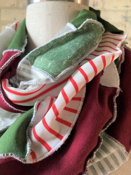 Holiday Cheer Lightweight Infinity Scarf
