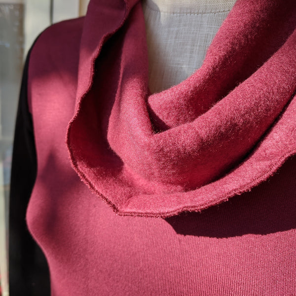 Bamboo Fleece Pocket Dress - Ready to Ship Natalie Dress - Handmade Organic Clothing