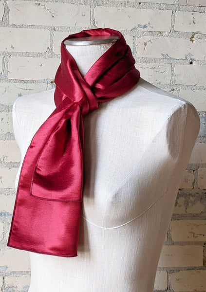 Solid Hemp Silk Scarf - Handmade Organic Clothing