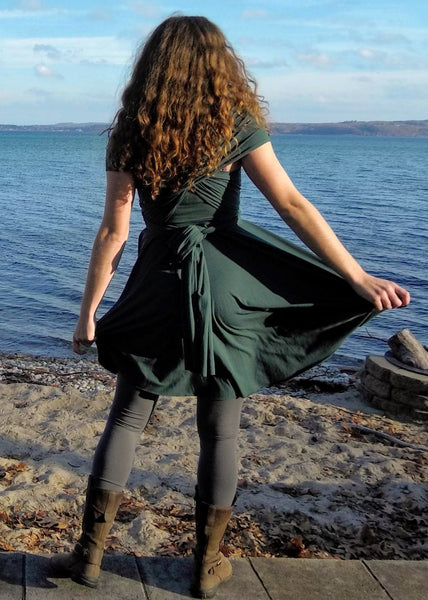 Ayla Infinity Dress - Custom Made - Handmade Organic Clothing