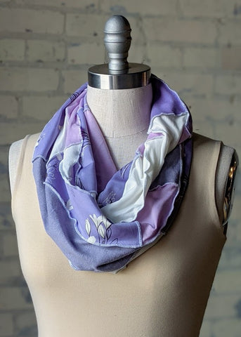 Lovely Lavender Infinity Scarf