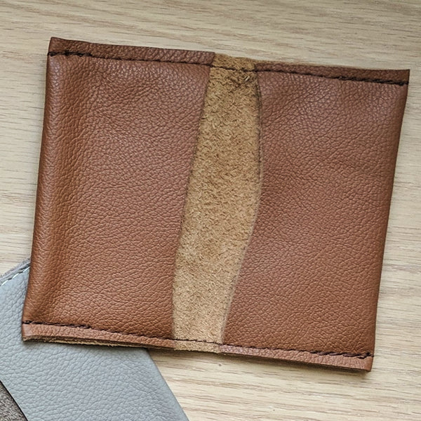 Salvaged Leather Wallet