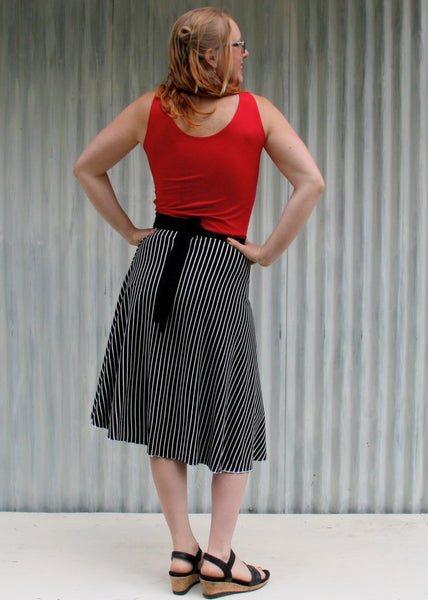 Beetlejuice Wrap Skirt