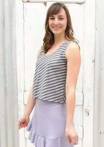 Bonny Tank Top (Custom Made) - Handmade Organic Clothing