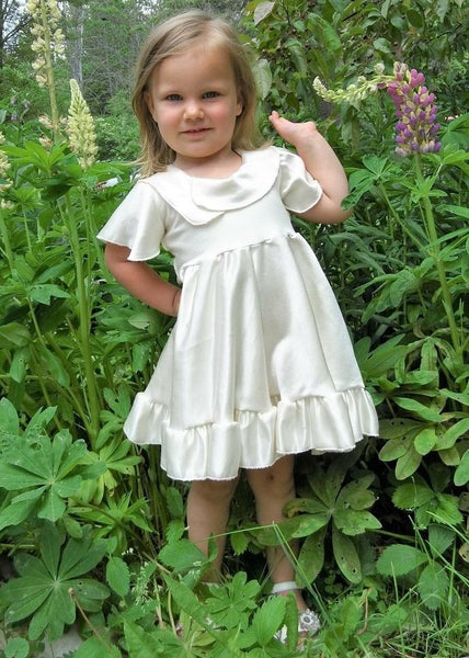 Ready-Made Flower Girl Dresses - Handmade Organic Clothing