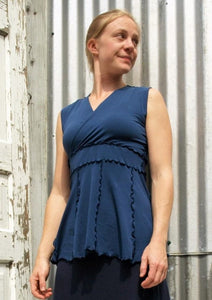 Penelope Top (Custom Made) - Handmade Organic Clothing