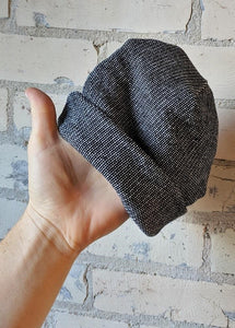 Organic French Terry Slouchy Hat - Vegan Unisex Winter Hat - Yana Dee