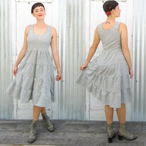 Peasant Tier Summer Dress - Custom Made Gretchen Dress - Handmade Organic Clothing