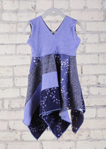 Periwinkle Square Dress (1-2 Years)