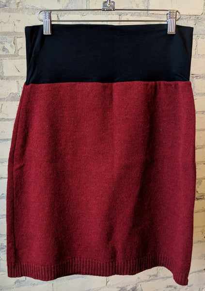 M/L Chunky Wool Sweater Skirts - Handmade Organic Clothing