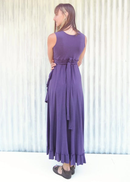 Josephine Ruffle Maxi Dress (Custom Made)