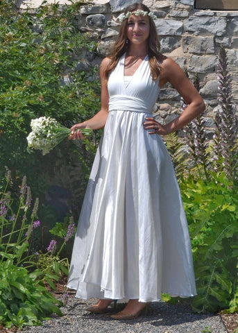 Stock Aviana Wedding Dress - Handmade Organic Clothing