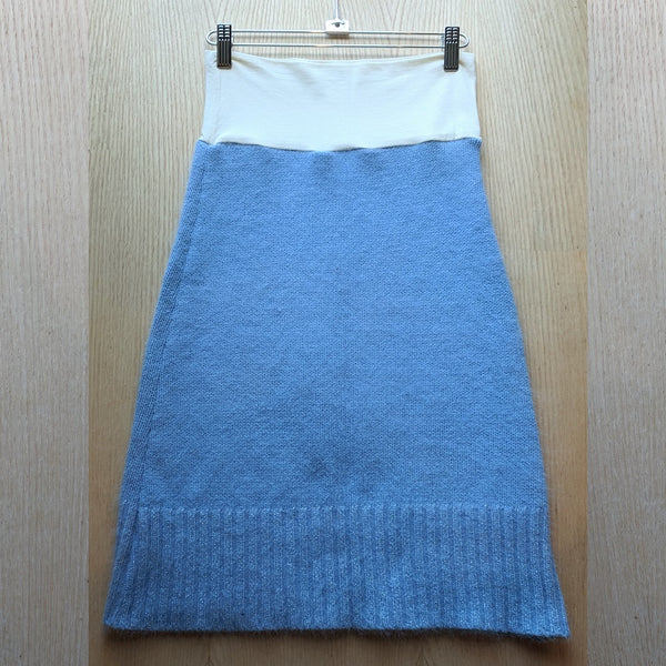 S/M Chunky Wool Sweater Skirts - Handmade Organic Clothing