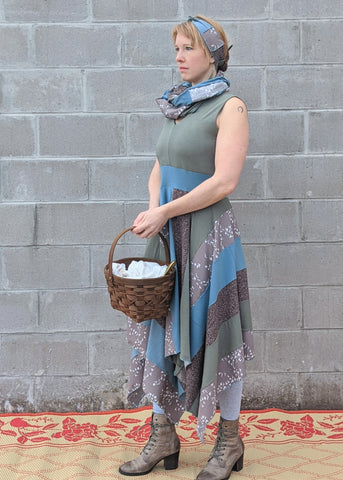Sand Bird Square Dress