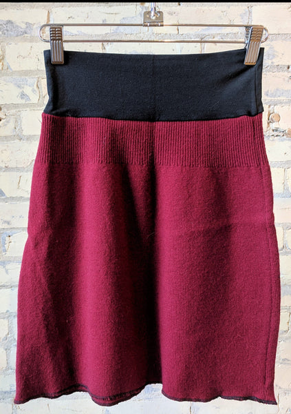 S Chunky Wool Sweater Skirts - Yana Dee