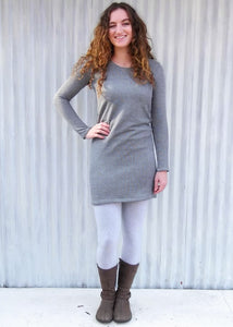 Organic French Terry Lucy Tunic - Handmade Organic Clothing