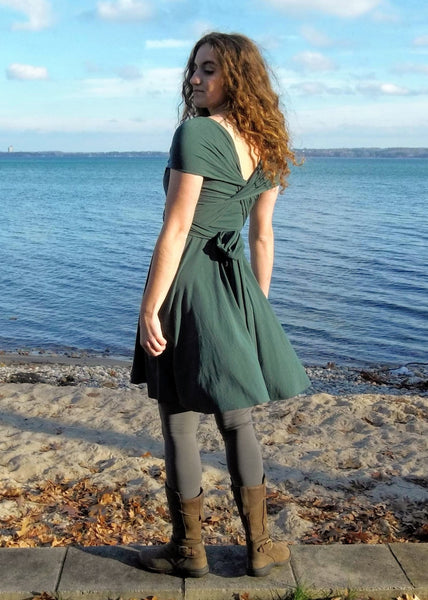 Ayla Infinity Dress - In Stock - Handmade Organic Clothing