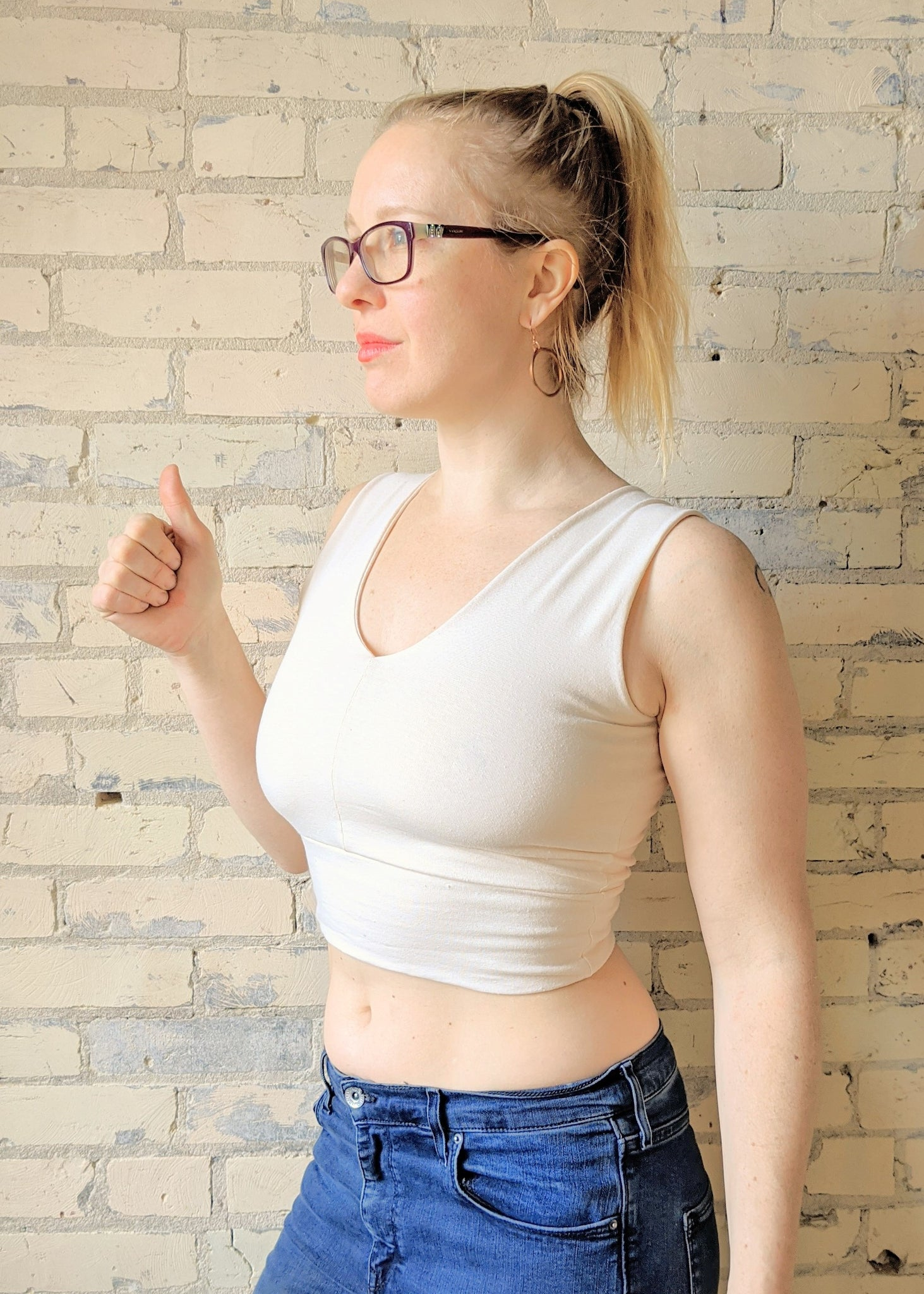 Bailey Bralette (Custom Made) - Handmade Organic Clothing