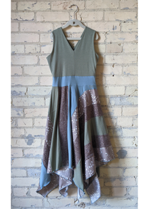Sand Bird Square Dress (Juniors)