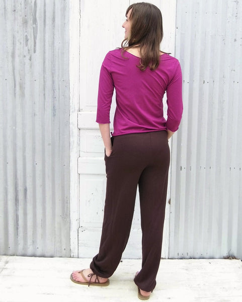 Rose Marie Luxury Lounge Pants (Custom Made) - Handmade Organic Clothing