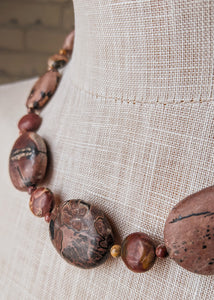 Lady Godiva's Nude Necklace - Handmade Organic Clothing