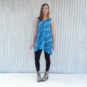Linen Tunic Pocket Dress - Custom Made - Blayke Dress - Yana Dee