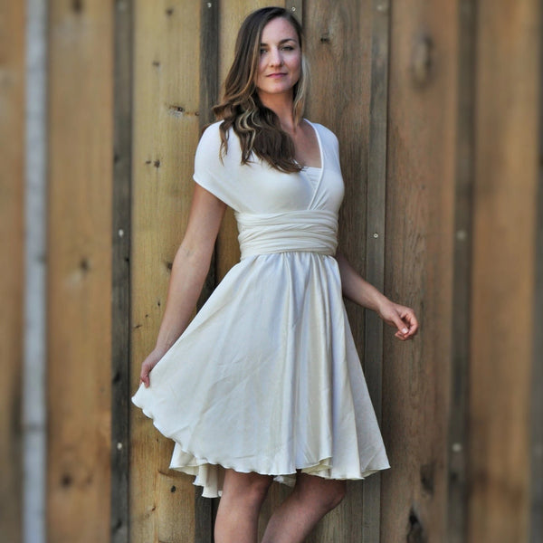Avita Infinity Wedding Weekend Dress (Custom Made) - Handmade Organic Clothing