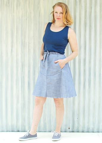 Nevada Pocket Skirt (Custom Made)