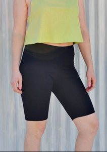 Hemp Lycra Biker Shorts - Custom Made Sammi Shorts - Handmade Organic Clothing