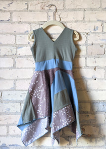 Sand Bird Square Dress (1-2 Years)