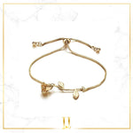 Rose Charm Bracelet - Limitless Jewellery
