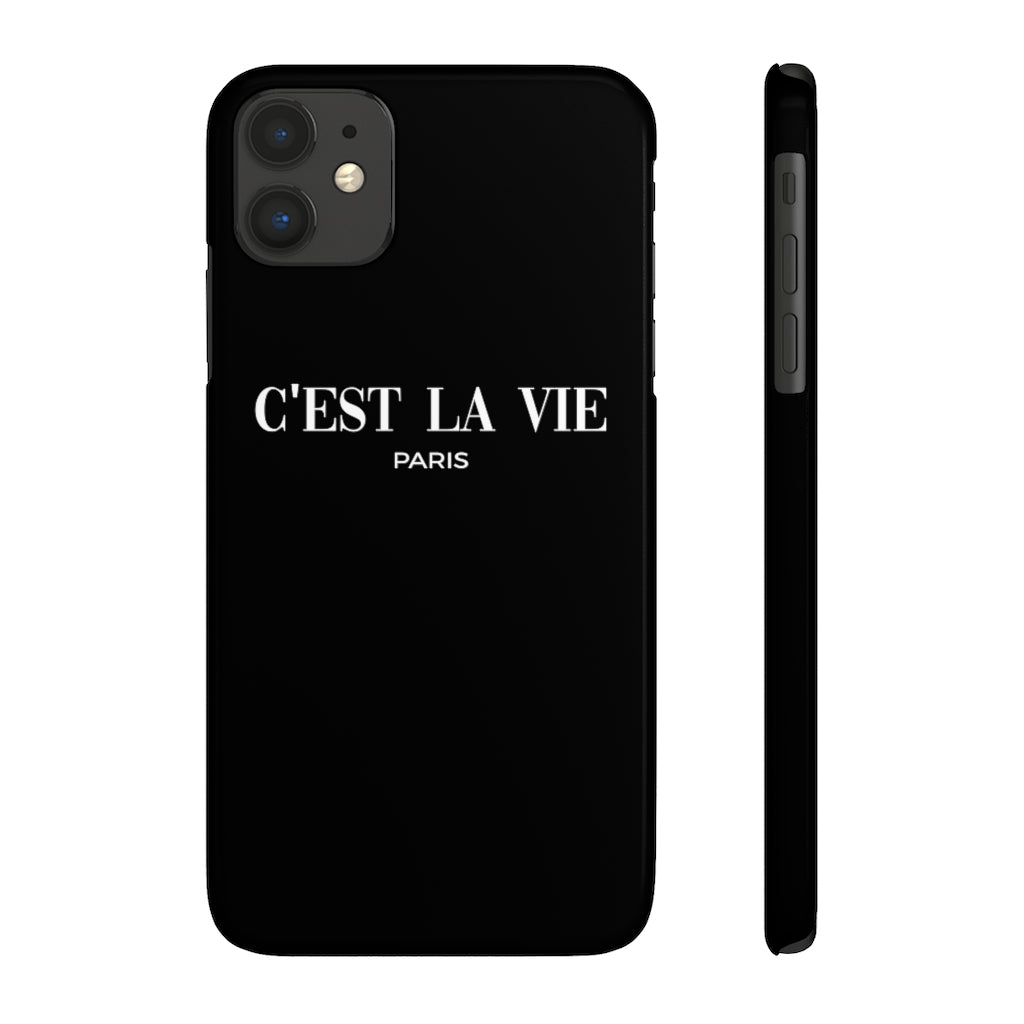 C'est La Vie Case Mate Slim Phone Case