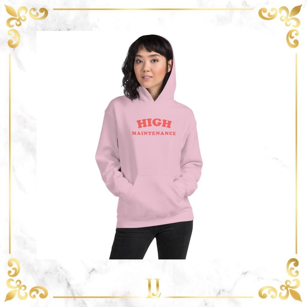 High Lovely Text Maintenance Hoodie - Limitless Jewellery