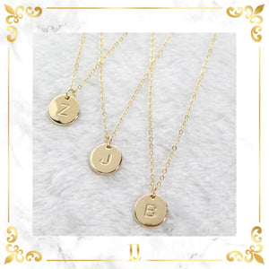Women 26 Letters Pendant Necklace - Limitless Jewellery