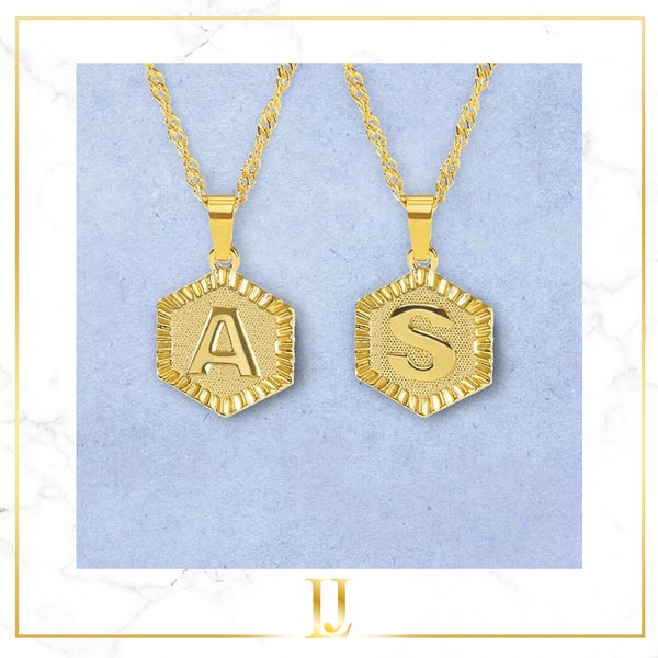 A-Z Name Pendant Necklace - Limitless Jewellery