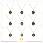 A-Z Gold Letters Necklace - Limitless Jewellery