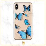 Butterfly Transparent iPhone Case
