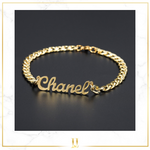 Personalized Cuban Chain Bracelet
