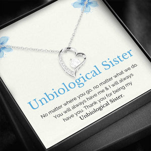 Unbiological Sister l Gift Necklaces