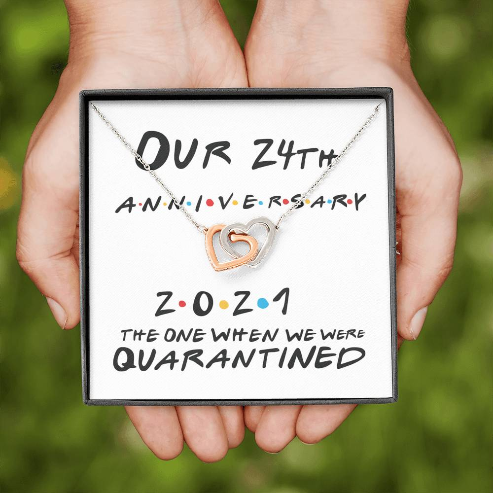 Funny 24th Anniversary Gift | 24th Wedding Anniversary Gift for Wife
