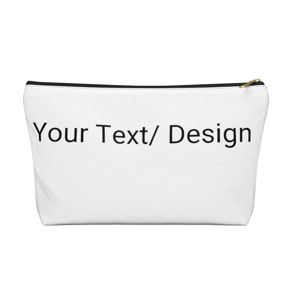 Personalized Accessory Pouch w T-bottom