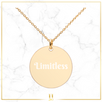 Personalized Disc Necklace - Limitless Jewellery