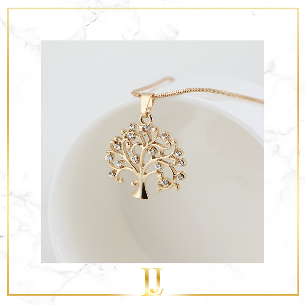 Tree Of Life Pendant Choker Necklace - Limitless Jewellery