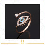Evil Eye Ring - Limitless Jewellery