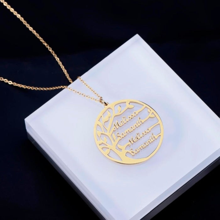 Family Tree Necklace - Limitless Jewellery