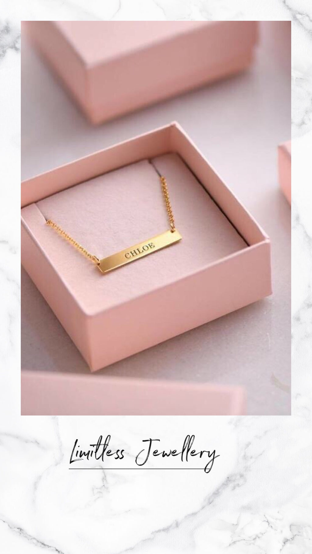 Personalized Blank Necklace
