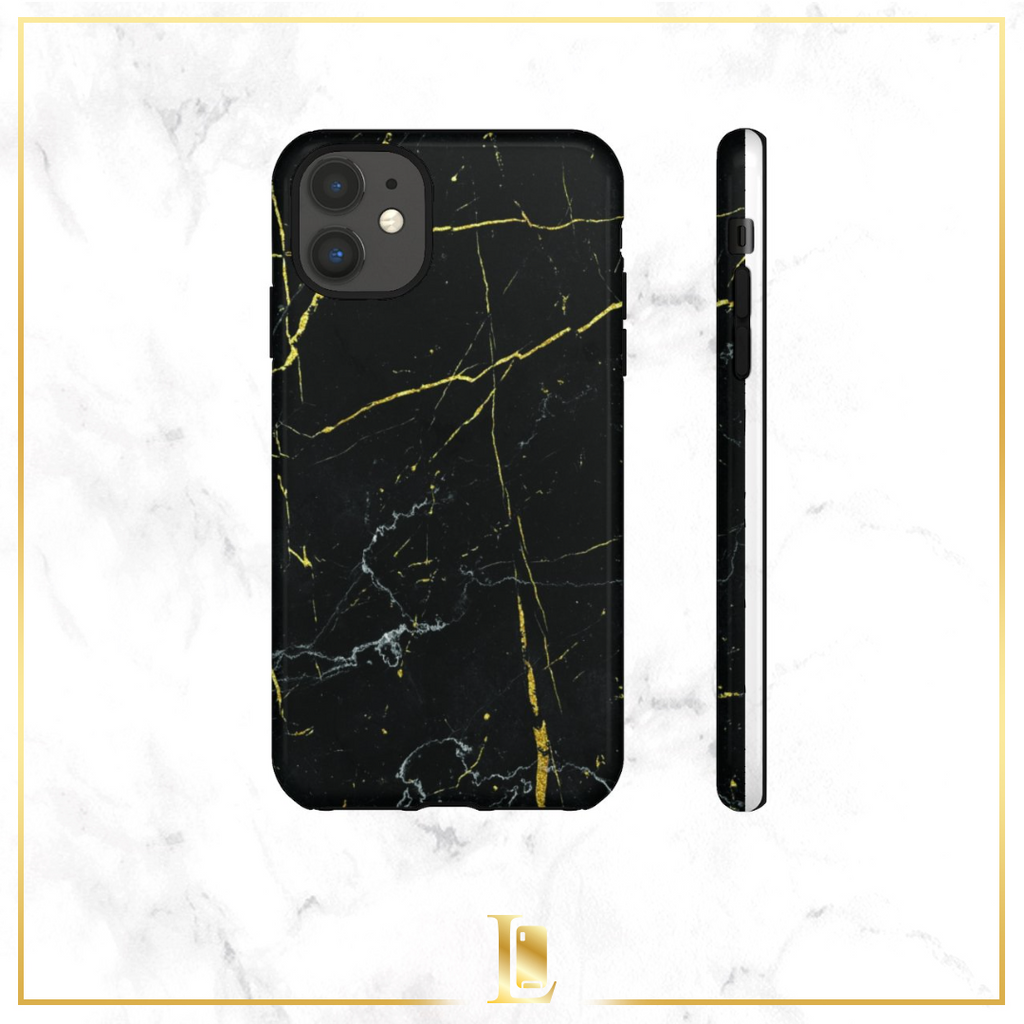 Dark Marble Tough Case
